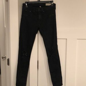 Rag and bone black jeans